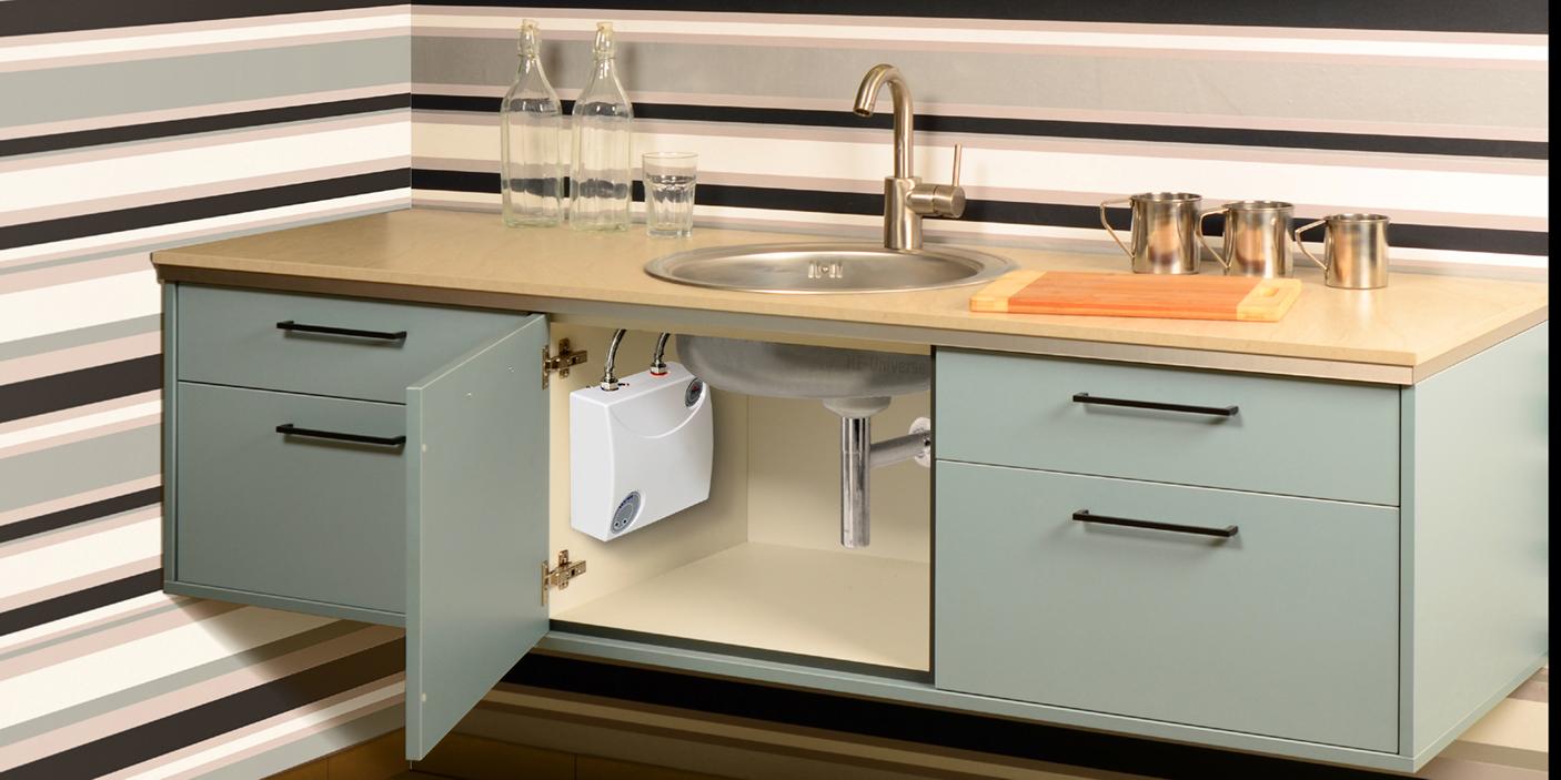 elektrischer klein durchlauferhitzer untertisch 5 kw epo. Black Bedroom Furniture Sets. Home Design Ideas